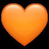 Orange Heart Emoji — Meaning, Copy & Paste - Type Heart Emoji