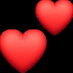 Two Hearts Emoji U1F495  Unicode Character Table