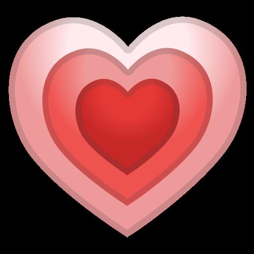 Growing heart Icon  Noto Emoji People Family  Love
