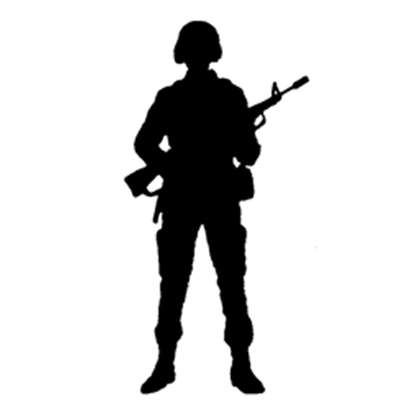 Soldiersilhouette1 A Image By P8W8  ROBLOX updated