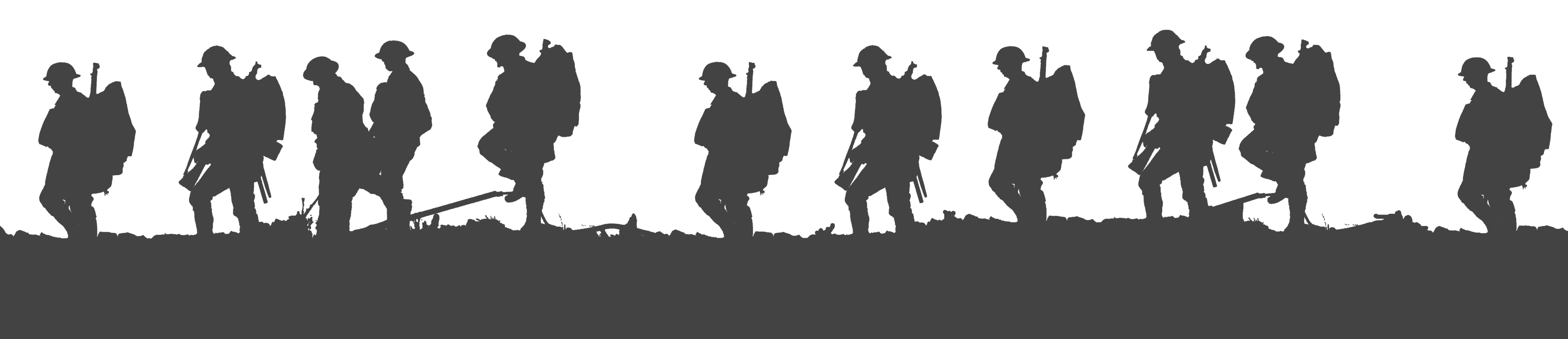 Lest we forget First World War Soldier Silhouette Military ... - U.S. Soldier Silhouette