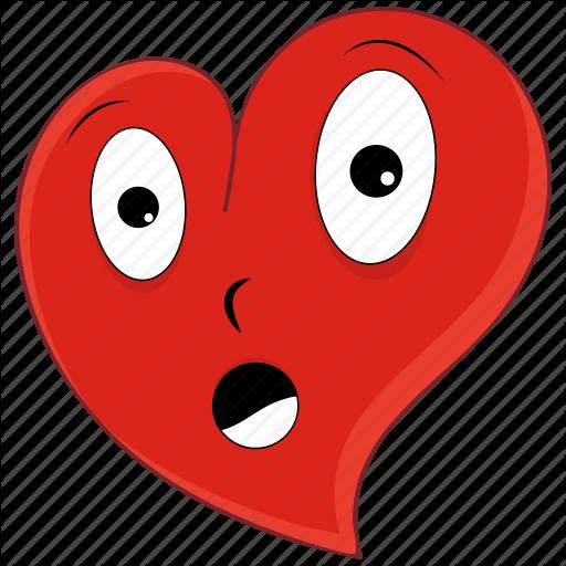 Emoji emoticon heart love pain valentine valentines