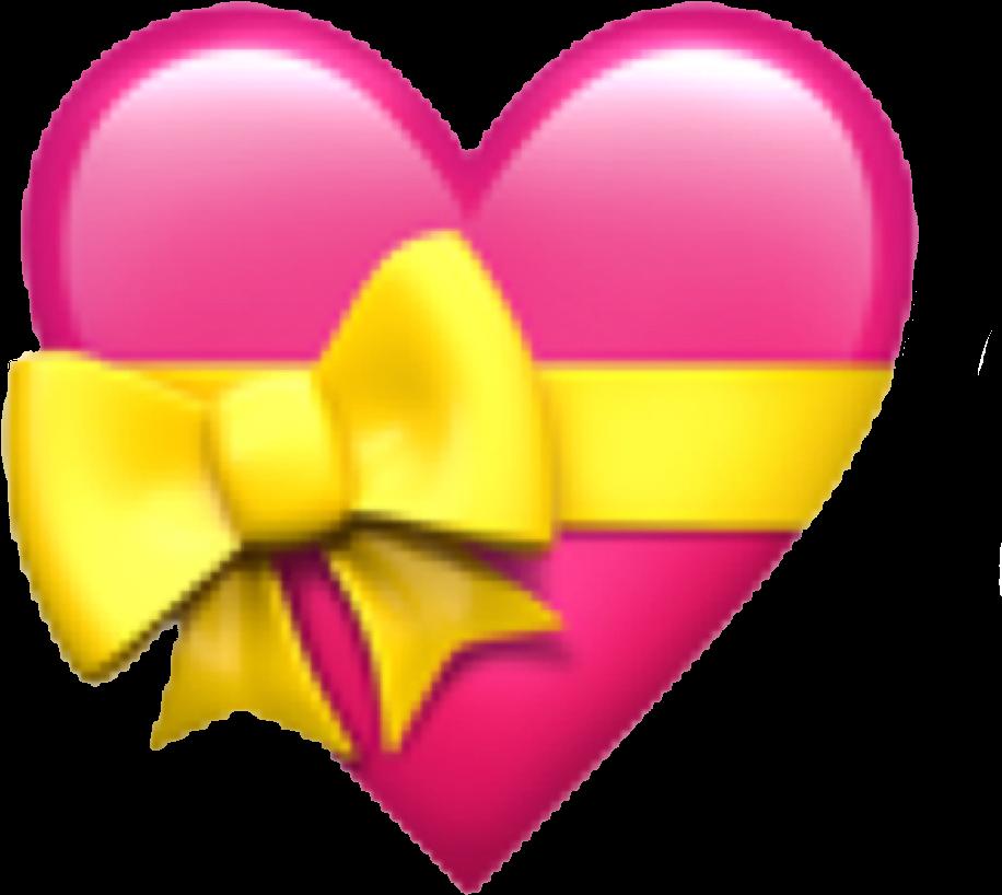 Hearts Emojis Emojisticker Emojiheart  Apple Heart Emoji