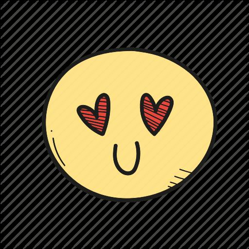Emoji emoticon heart valentine icon  Download on