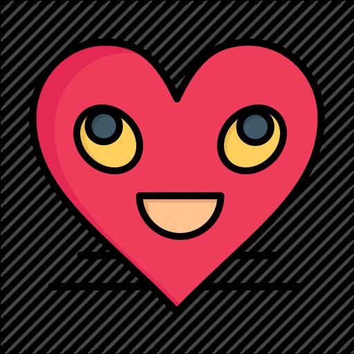 Day emoji face heart love smile smiley valentine