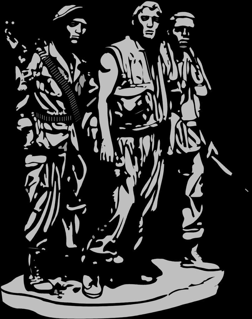 Vietnam soldiers memorial clipart  Clipground