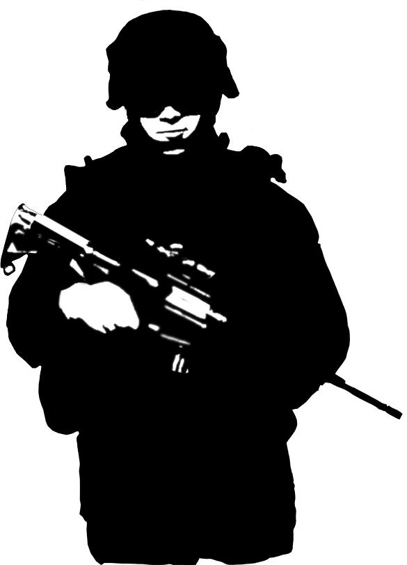 soldier silhouette  Google Search  Dibujos de mazinger z
