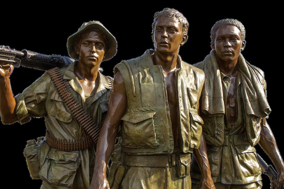 Vietnam Veterans Memorial The Three Soldiers Vietnam Women