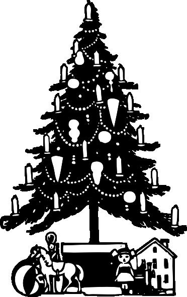Christmas Tree Clip Art at Clkercom  vector clip art