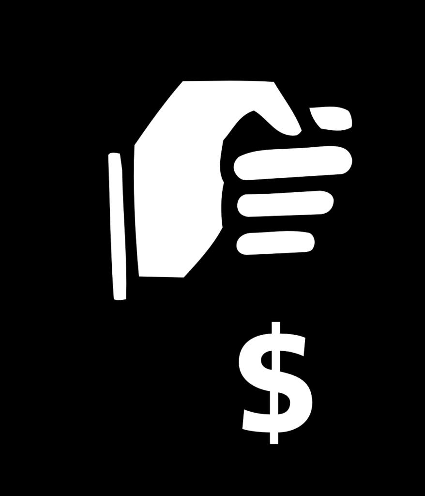 Money clipart black and white Money black and white