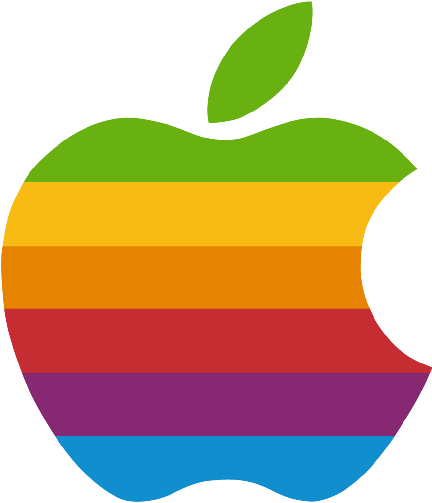 late giftRainbow apple logo vector by WindyThePlaneh on