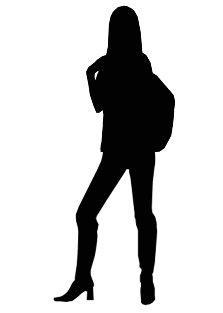 Silhouette Woman Clip art  Silhouette png download  1500