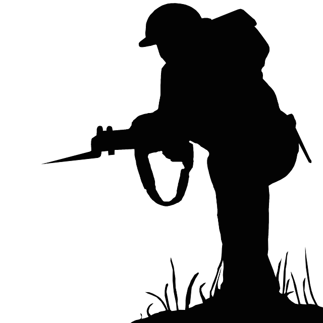 Silhouette Soldier War  Free image on Pixabay