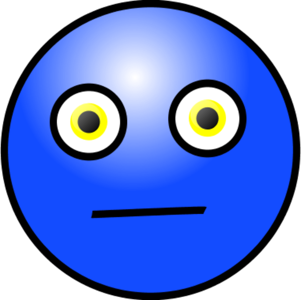 Smiley Face Worried  ClipArt Best
