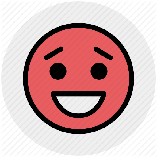 Emoticons, emotion, expression, face smiley, smiley, surprised, worried icon - Worried Smiley-Face