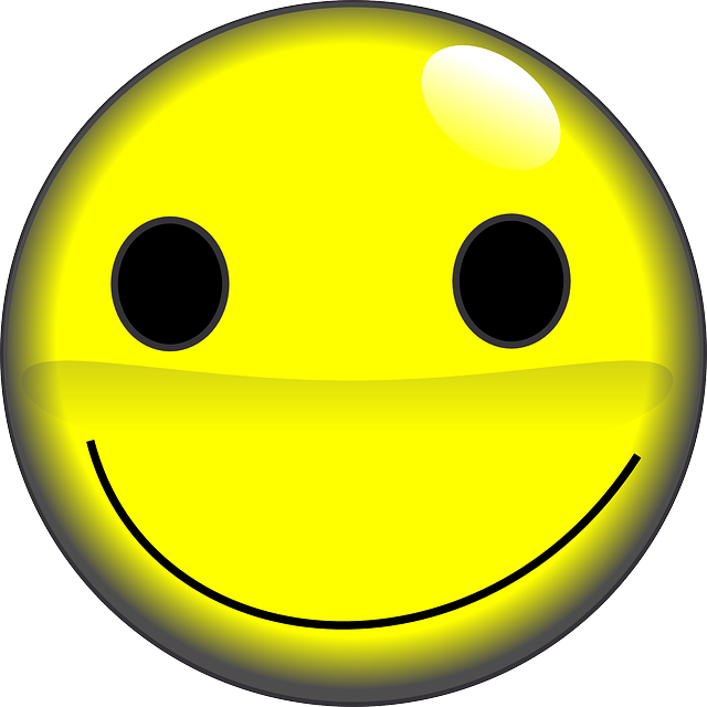 smile yellow smiley emoticon emotions happy With