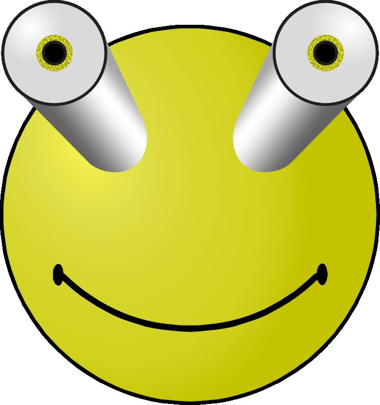 Yellow Smiley Face Clip Art  Clipartsco