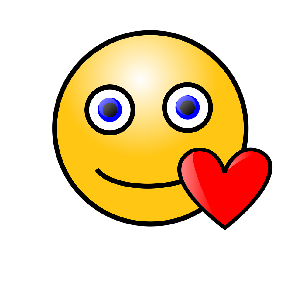 Illustration of a yellow smiley face  Free Stock Photo in