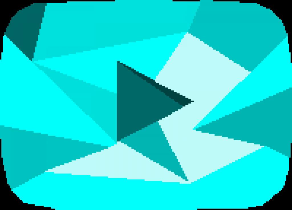 Pixilart  Diamond Youtube Play Button by SuperBKing101