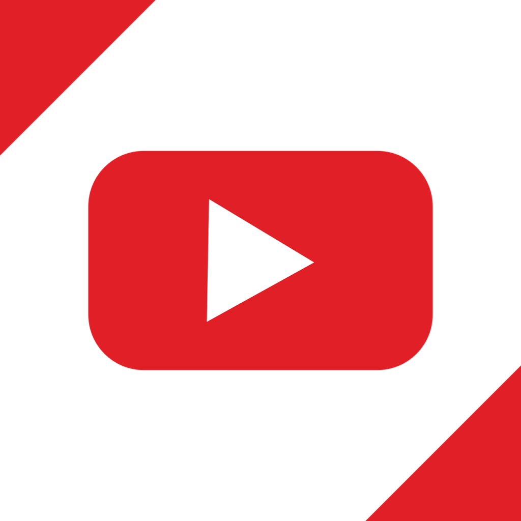 Youtube Logo Transparent background PNG cliparts free