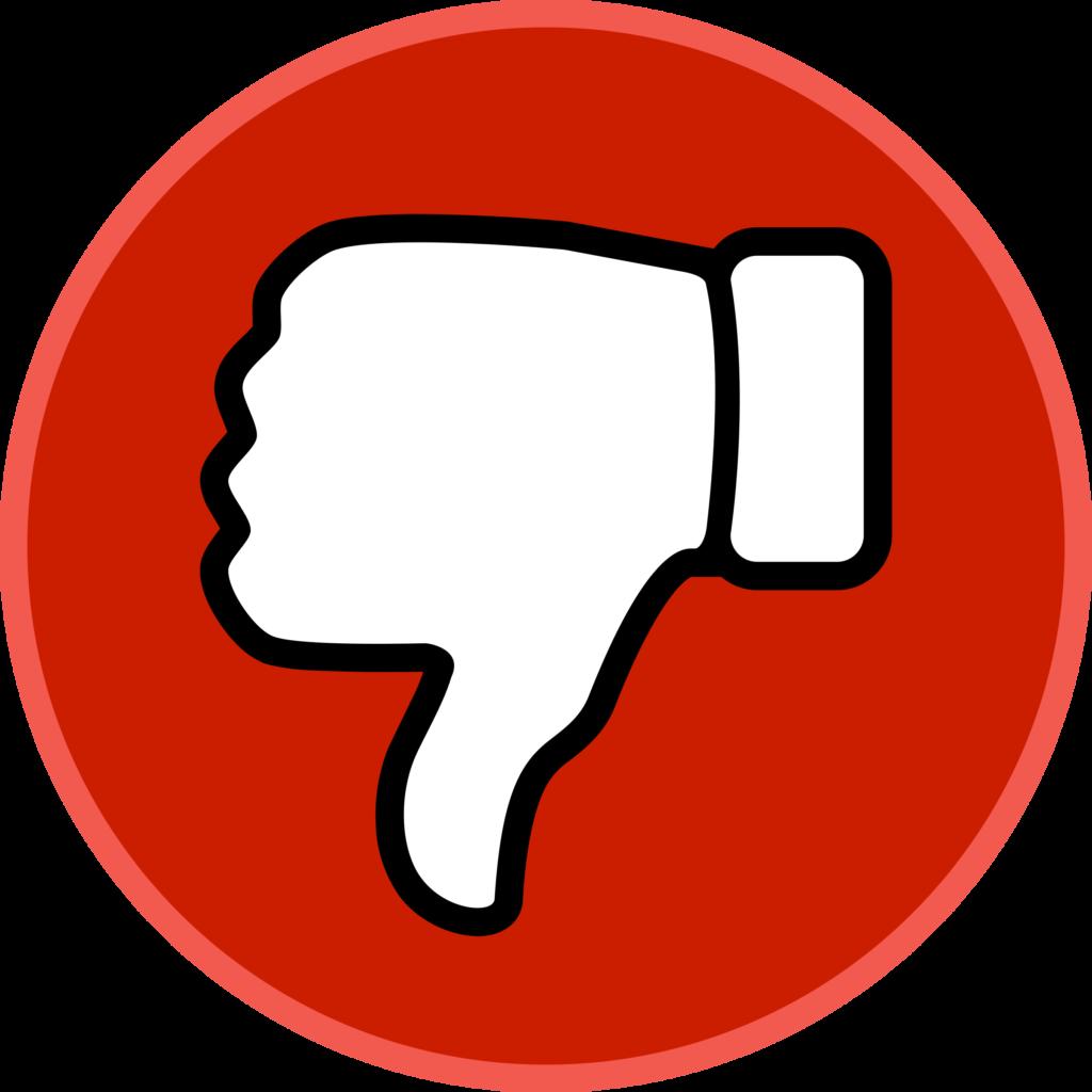 Youtube Dislike PNG Youtube Dislike Transparent