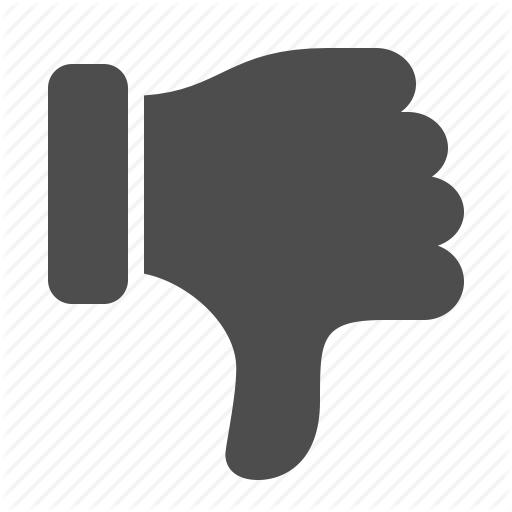 Free Youtube Dislike Pictures PNG Transparent Background
