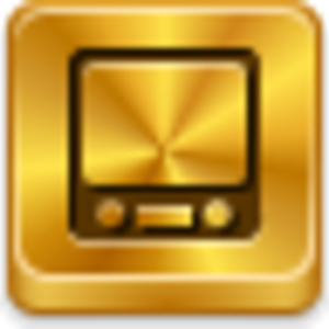 Free Gold Button Youtube Tv  Free Images at Clkercom