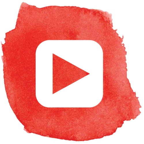 Free PNG Image  Red play vector logo youtube icon button