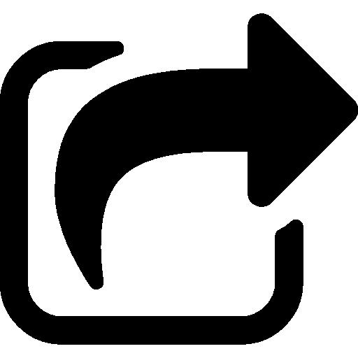 Share symbol  Free arrows icons
