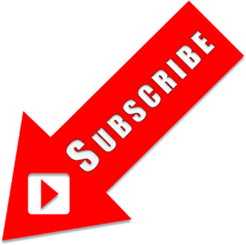 Arrow Youtube Subscribe  Subscribe Button With Arrow