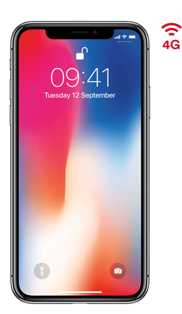 iPhone X 64Gb Space Grey: Price, Specs & Deals - Virgin ... - iPhone X Red